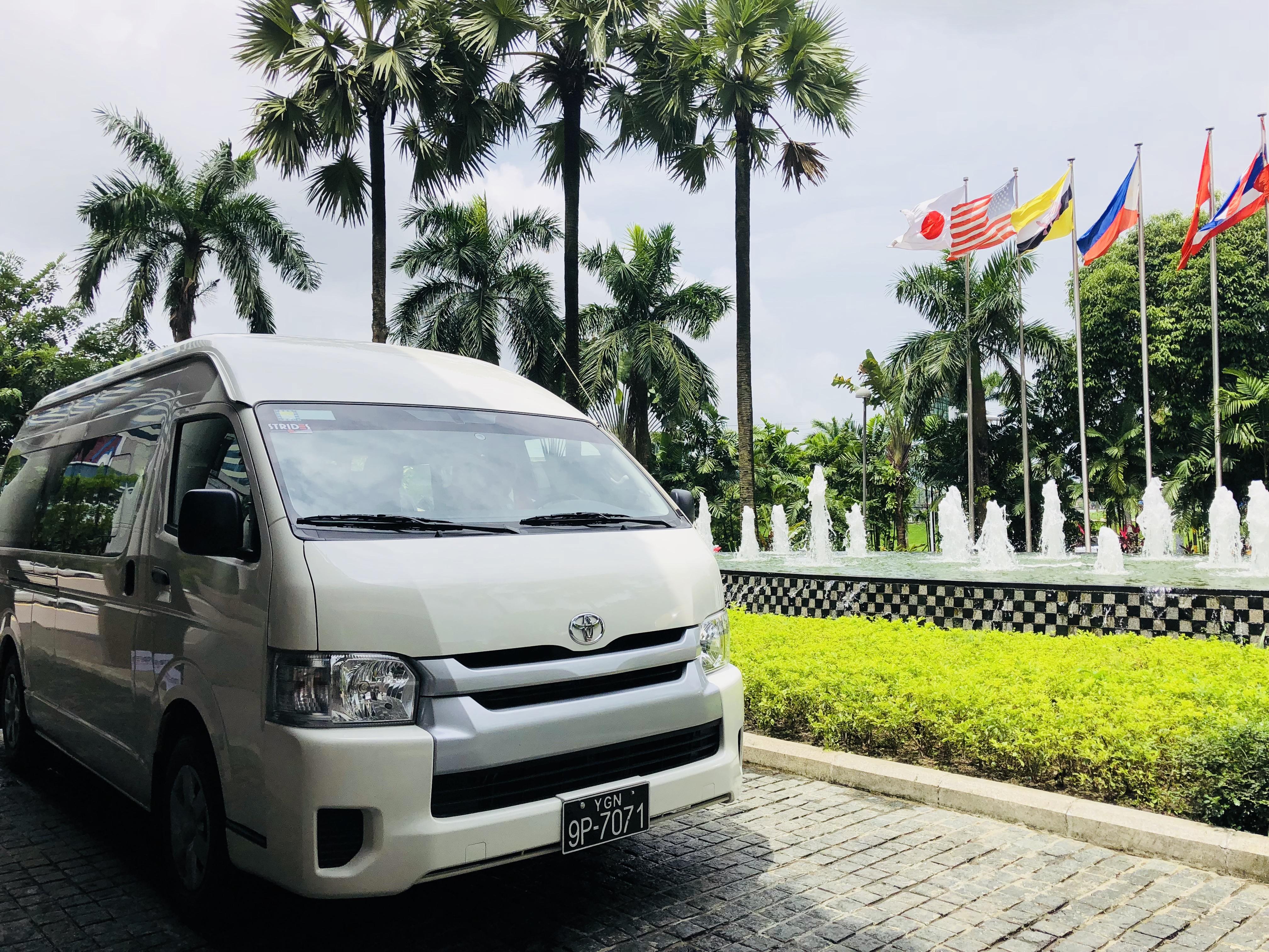 Strides Myanmar Toyota Hiace