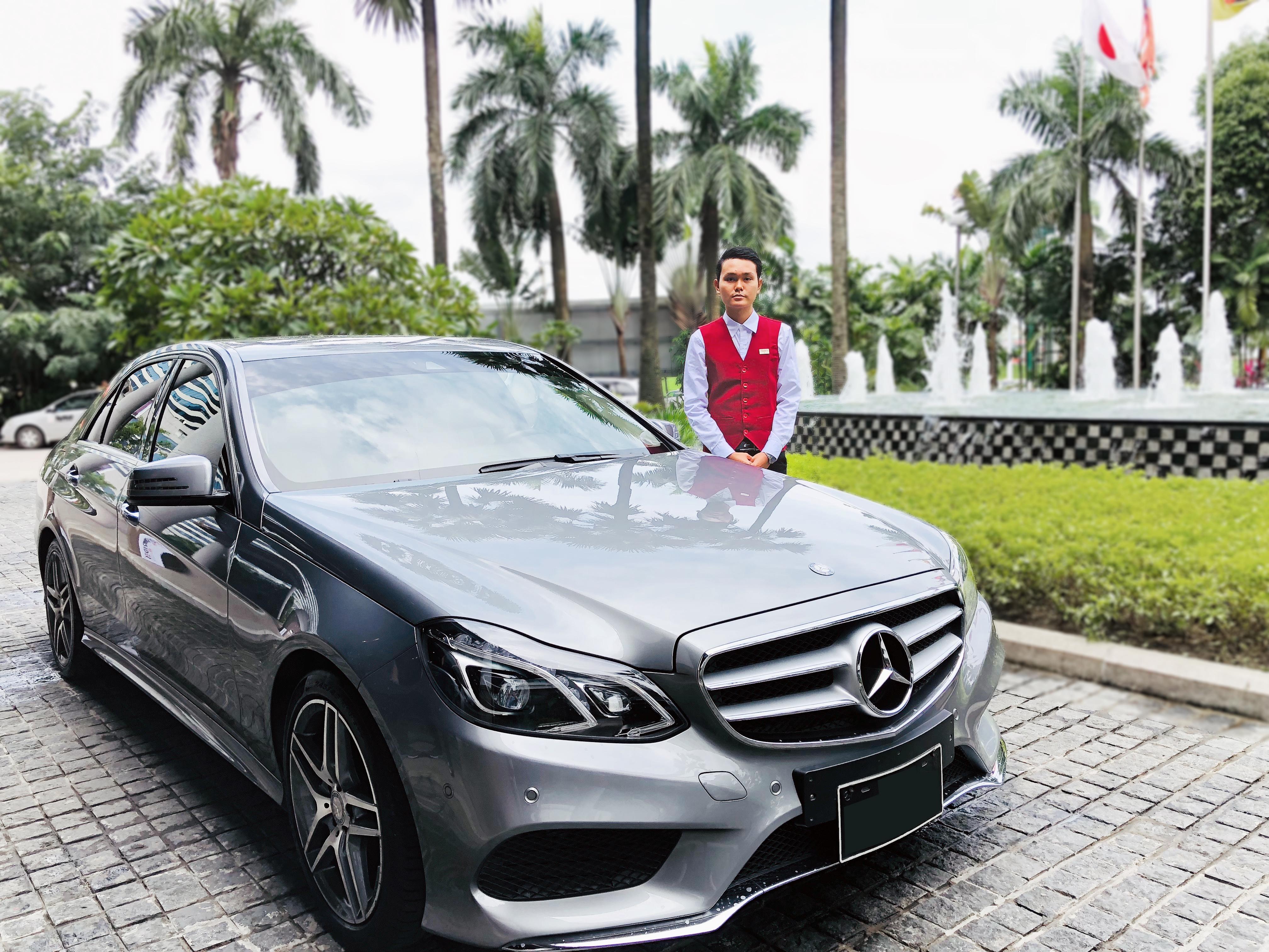 Strides Myanmar Mercedes E-Class